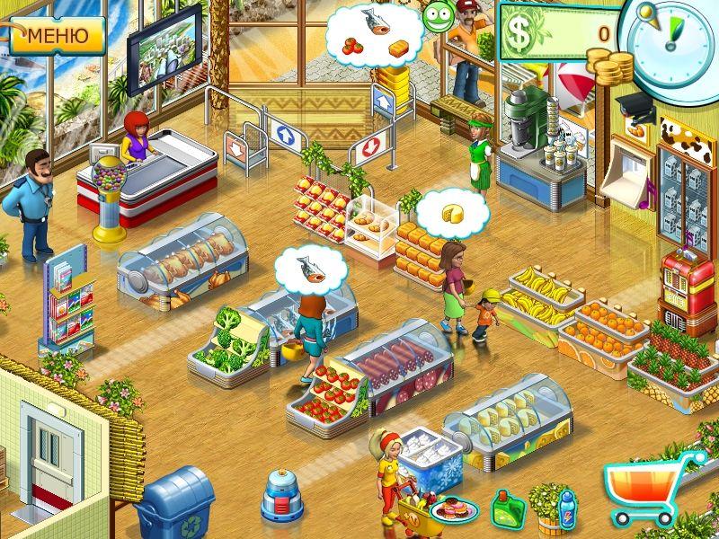 Скачать на компьютер игру магазин супермаркет