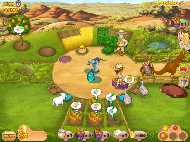 Скачать игру ферма мания. Веселые каникулы бесплатно.