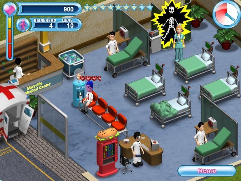 Больница для животных - Бесплатные онлайн игры для