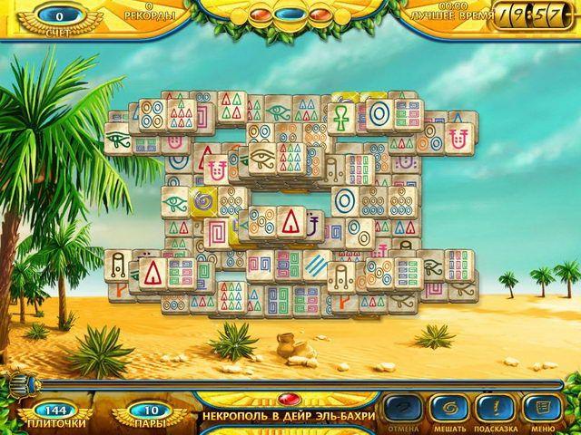 Бесплатно Игру Маджонг Древний Египет