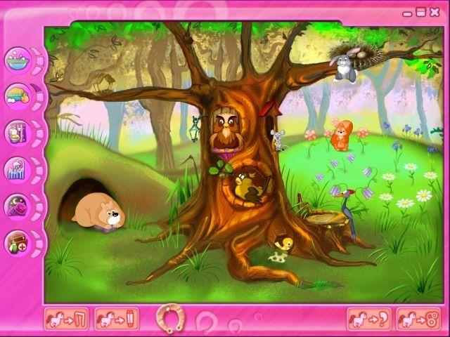 Розовый Пони Игру